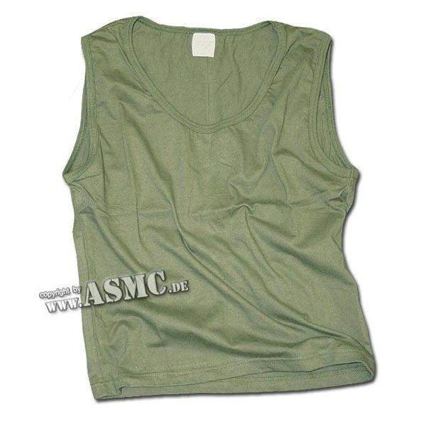 Tank Top Girly verde oliva short