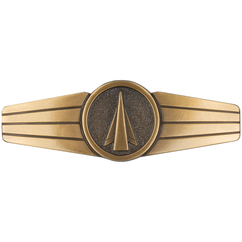 Distintivo BW Personal de misiles y cohetes metal bronce