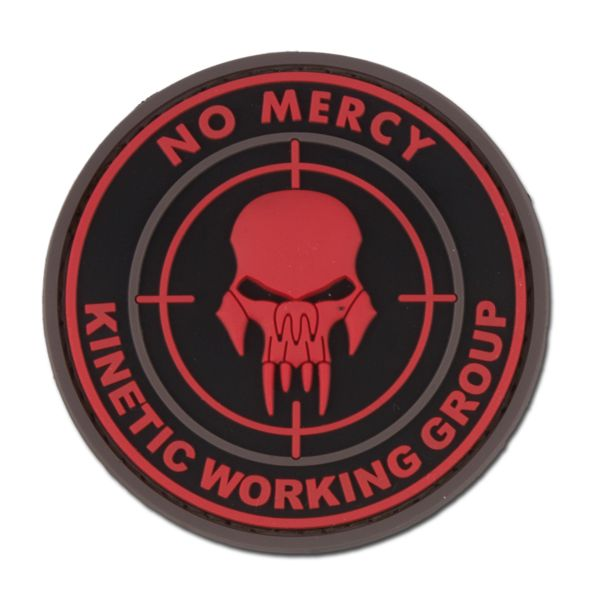 Insignia 3D NO MERCY - KINETIC WORKING GROUP blackmedic