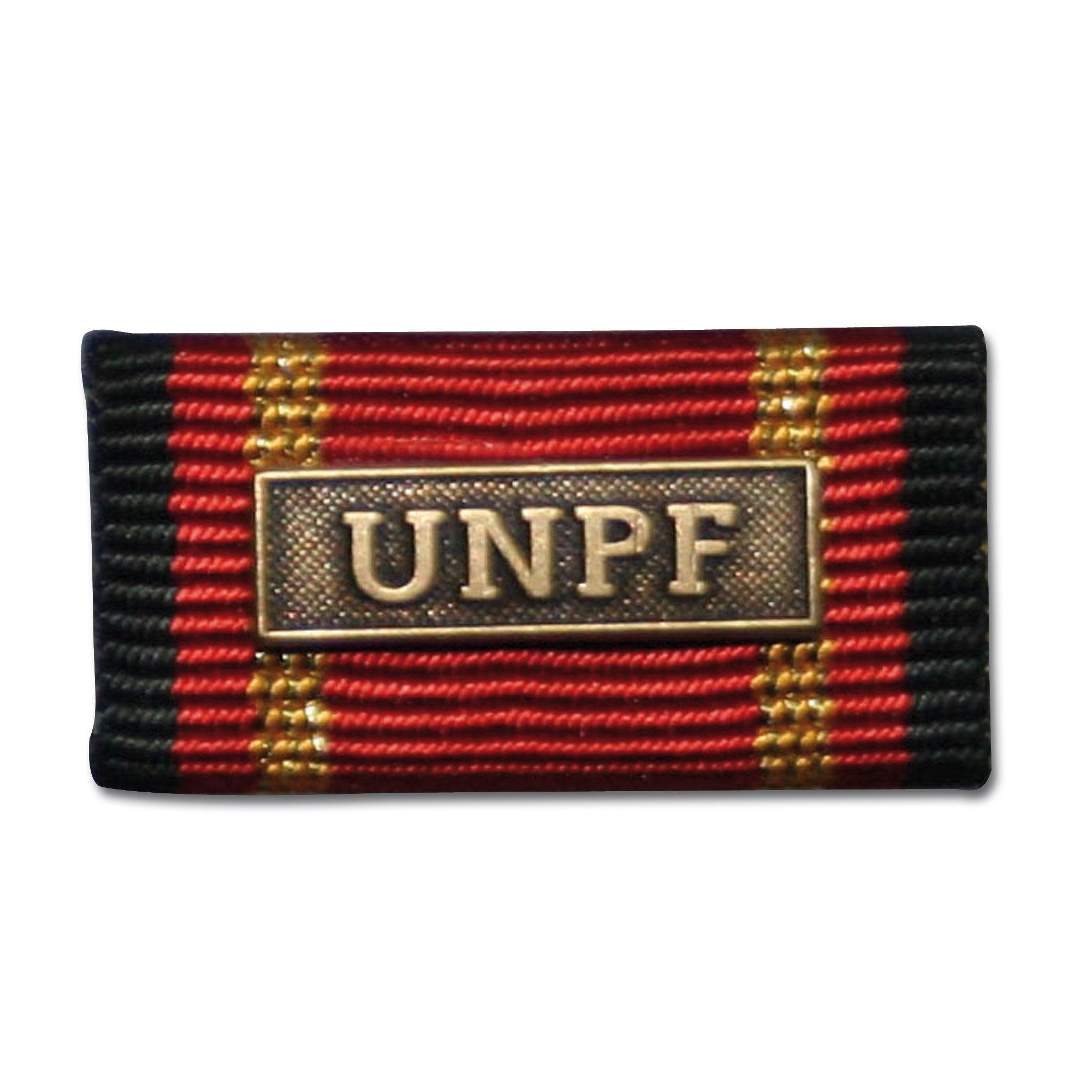 Medalla al servicio UNPF bronce