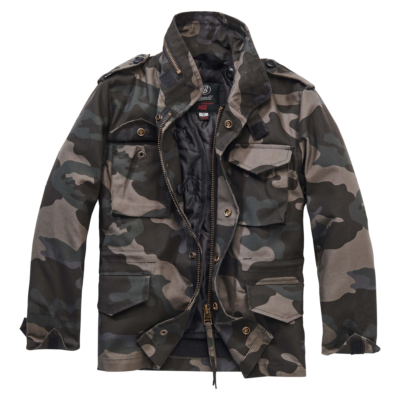 Chaqueta Brandit M65 Standard Jacket Kids darkcamo