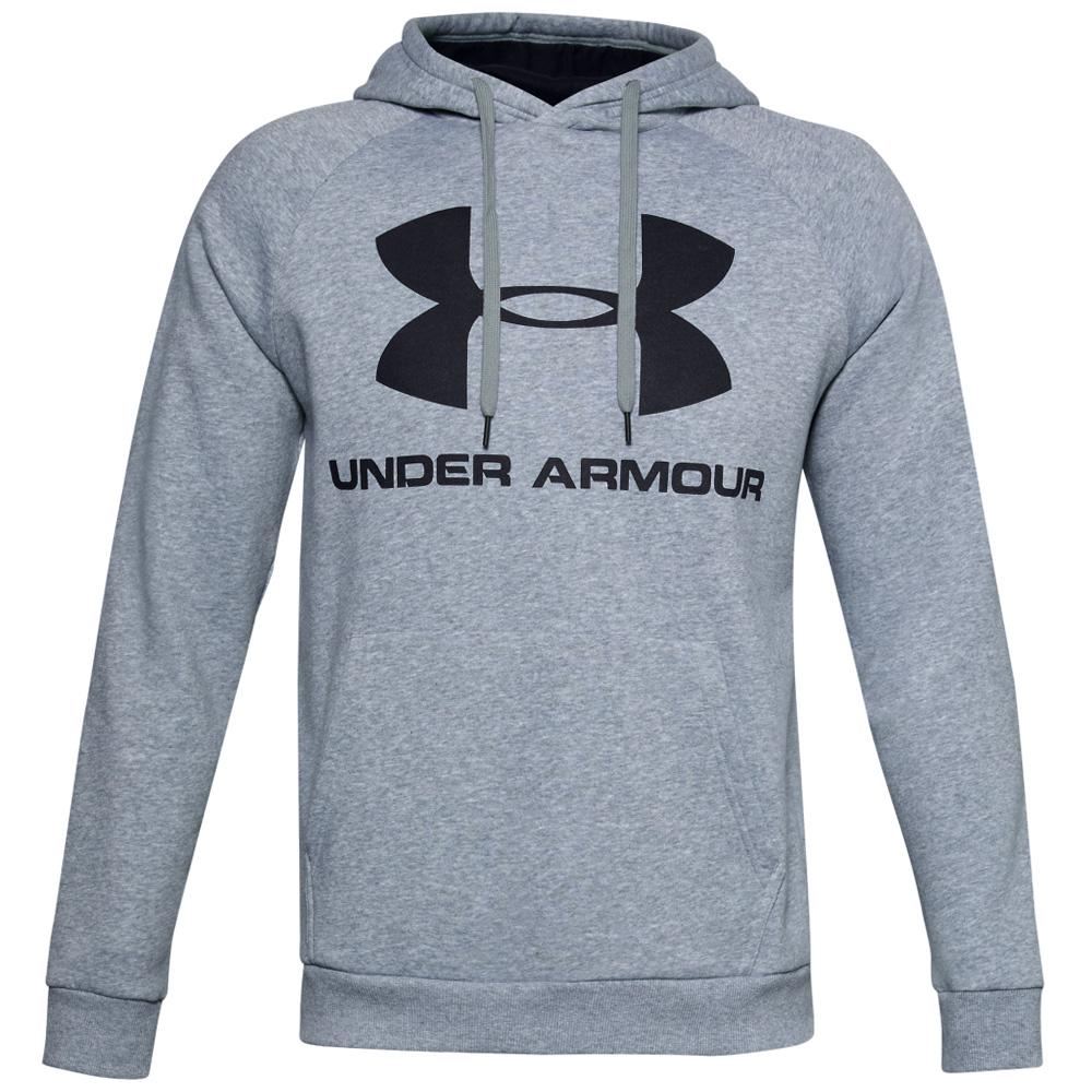 Sudadera Under Armour Fleece Sportstyle Logo steel light heather