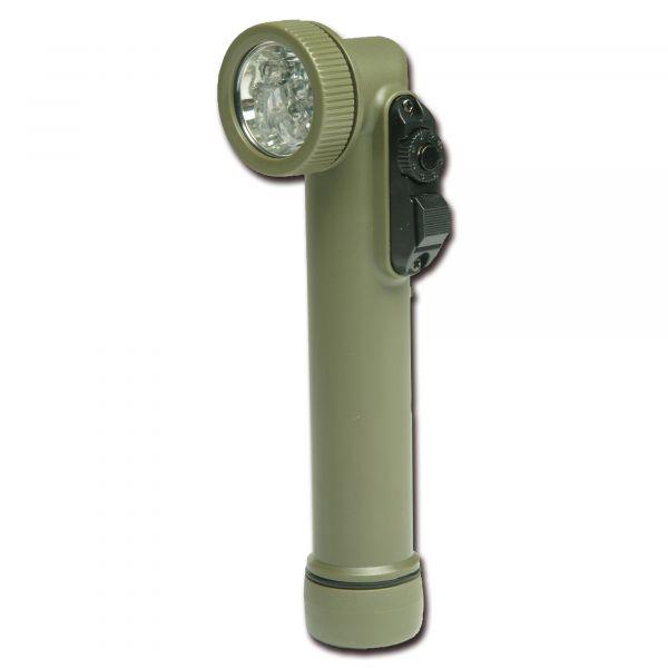 Linterna angular Multi-LED Import pequeña verde oliva