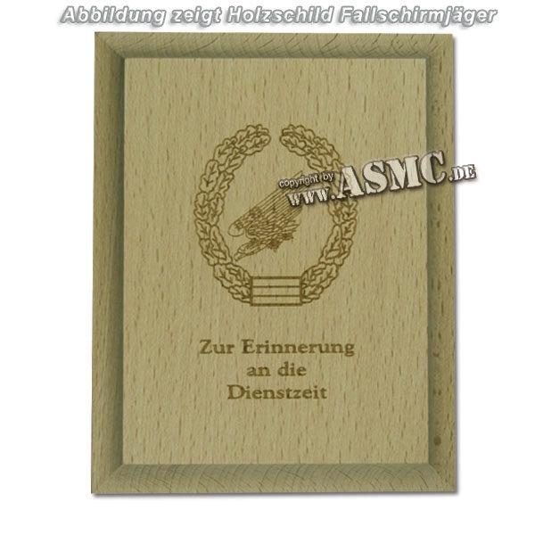 Panel de madera pequeño Panzeraufklärer Dienstze