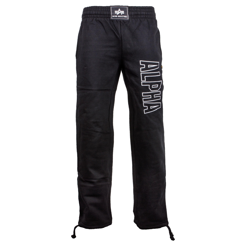 Pantalón Sweatpants Alpha Industries Track negro