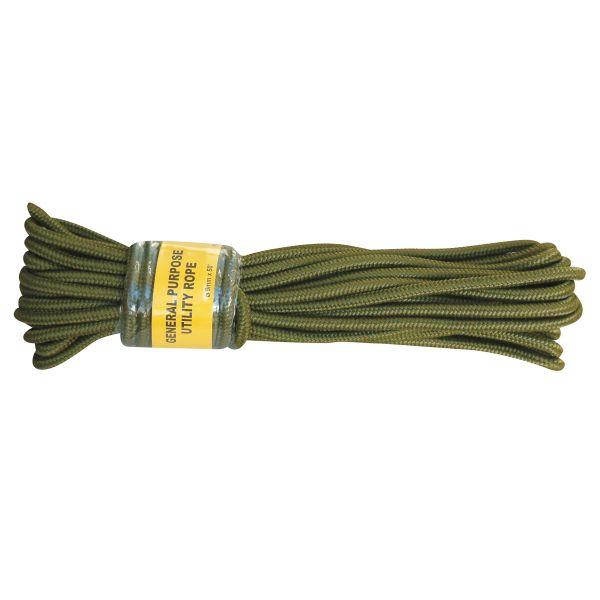 Cuerda comando verde oliva 9 mm