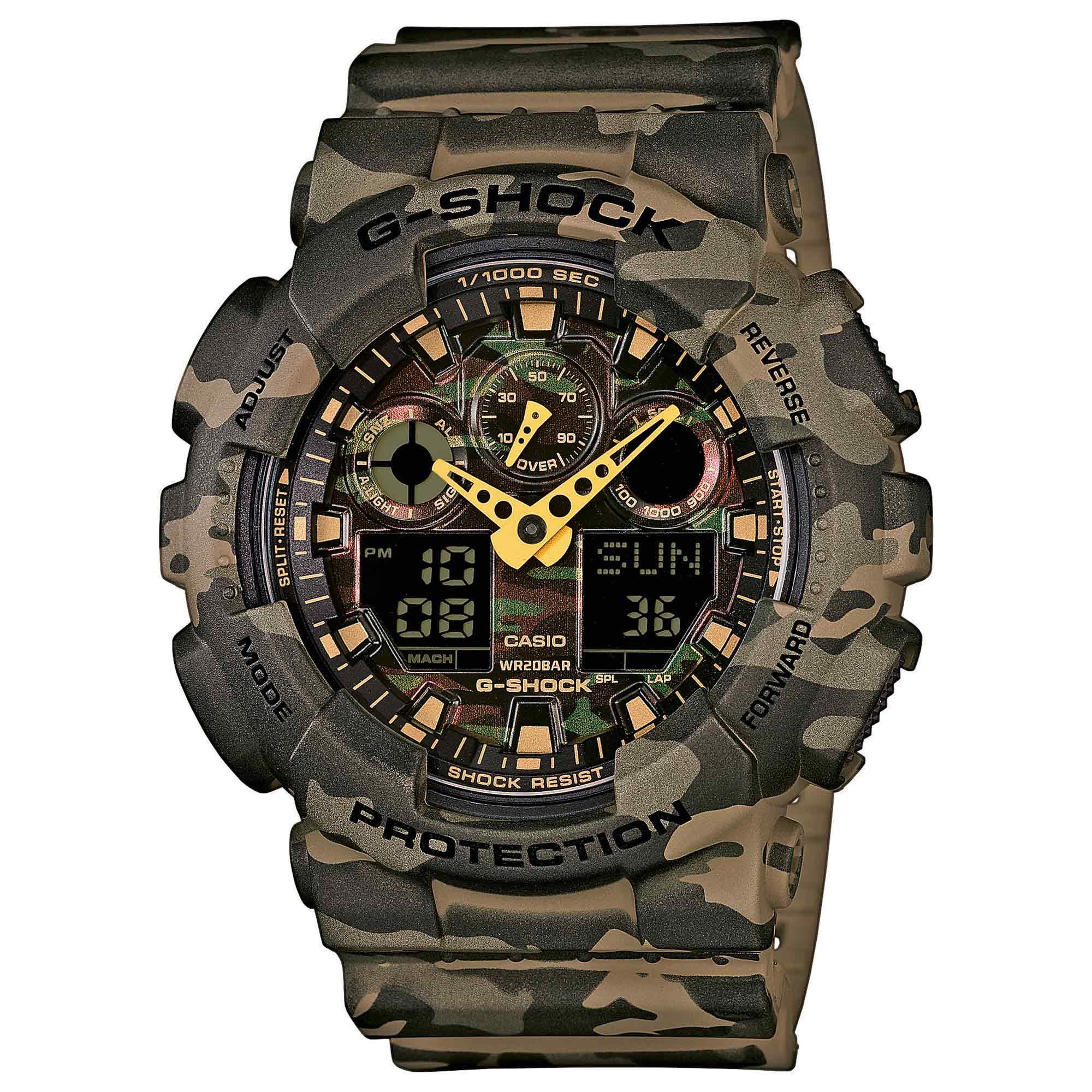 Reloj Casio G-Shock Classic GA-100CM-5AER woodland