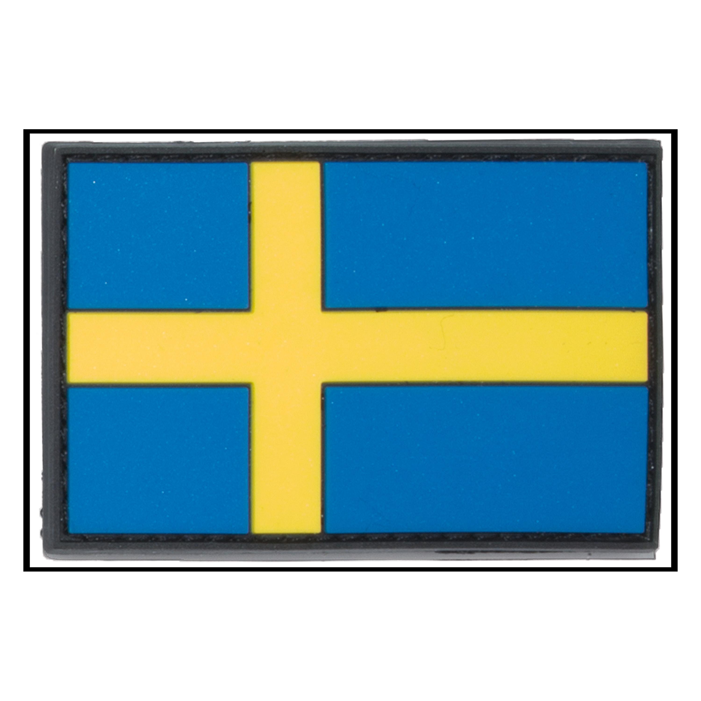 Parche - 3D bandera Suecia