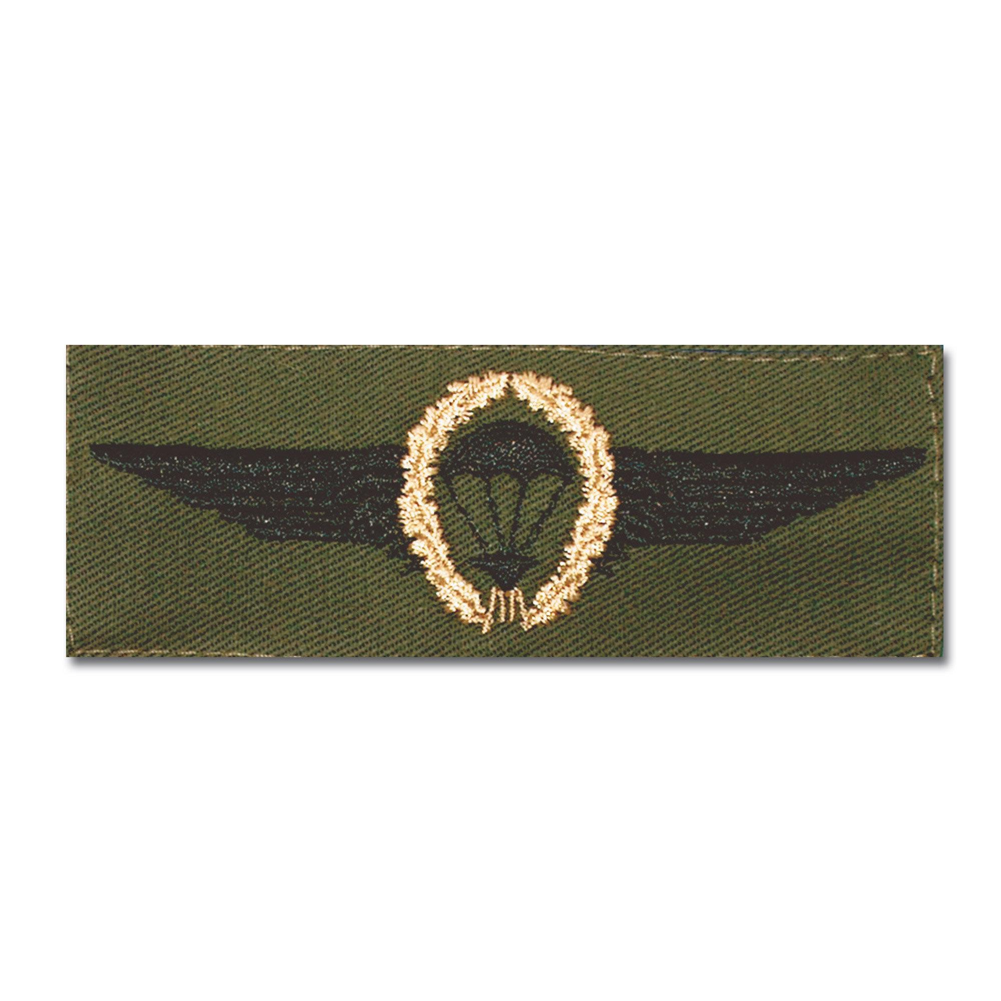 Insignia BW Fallschirmspringer bronce /verde oliva