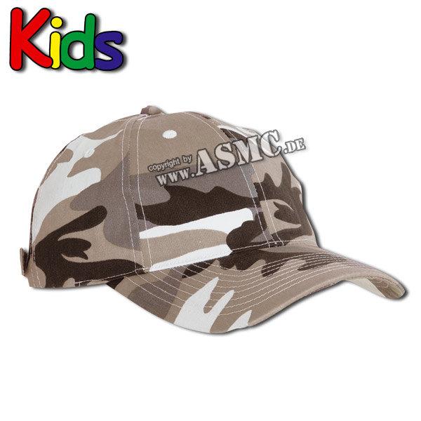 Gorra de béisbol para niños urbancamo