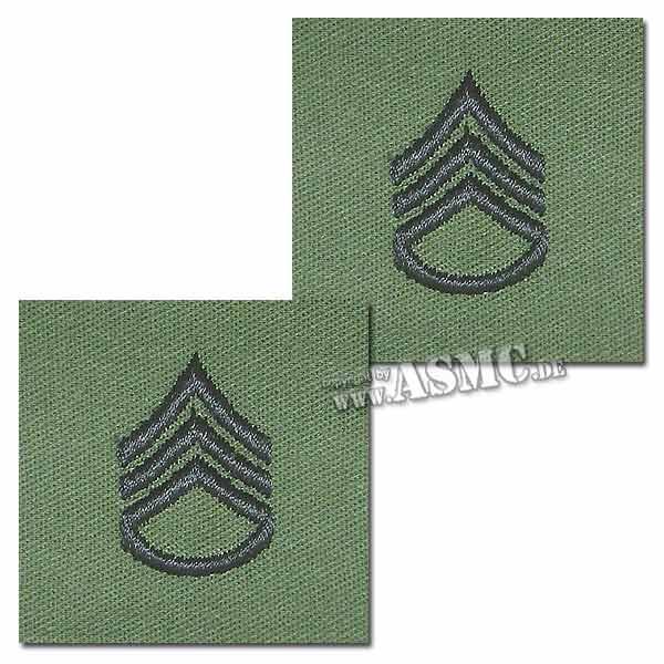 Distintivo textil de rango US Staff Sergeant