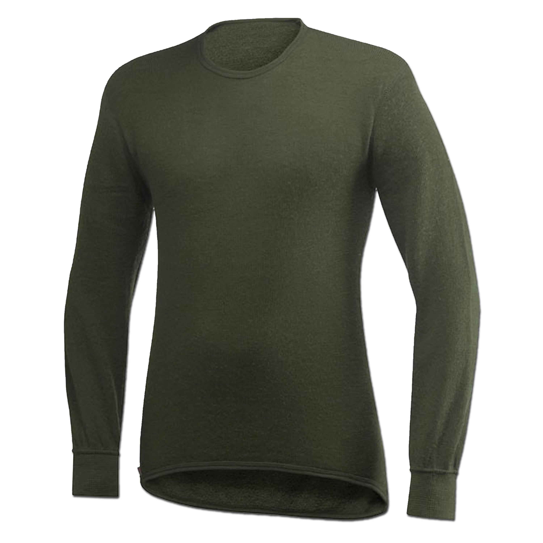 Woolpower camiseta manga larga 200 verde oliva