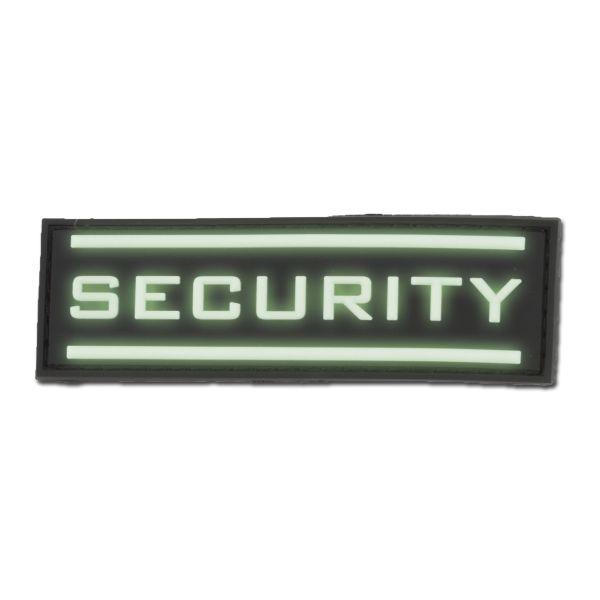 Parche-3D Security luminiscente