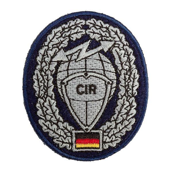 Distintivo de boina BW Cyber- und Informationsraum CIR Textil