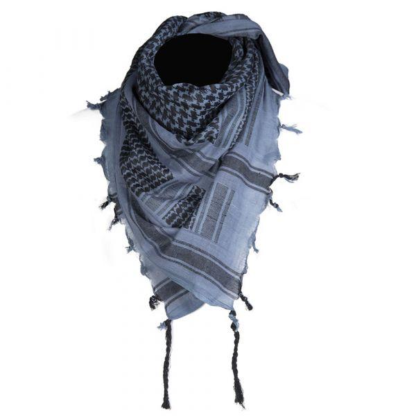 Mil-Tec Shemagh 110x110 cm azul negro