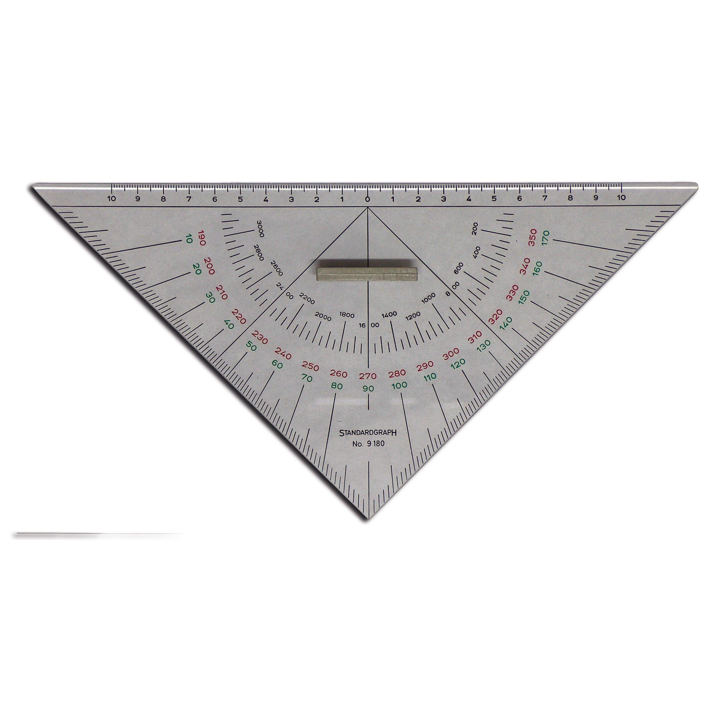 Escuadra triangular