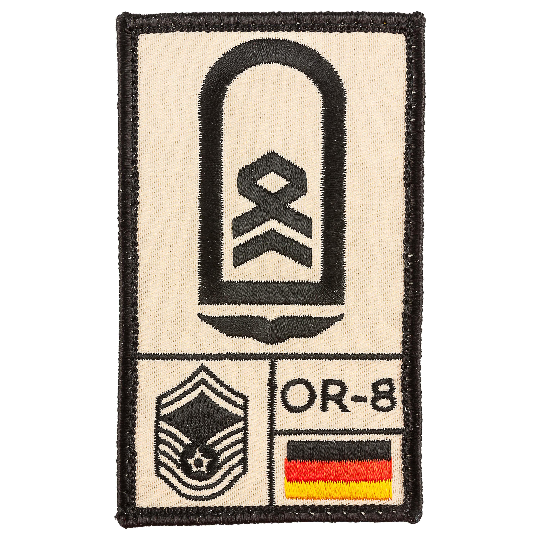 Parche Café Viereck Rank Stabsfeldwebel Luftwaffe sand