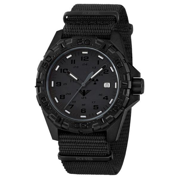 Reloj KHS Reaper XTAC correa OTAN negro