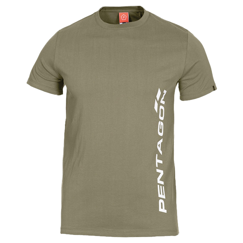 Camiseta Pentagon Vertical verde oliva
