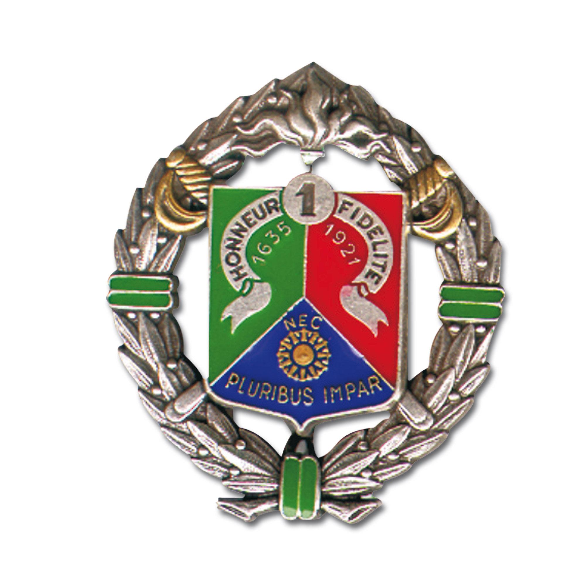 Distintivo francés Legion 1er.REC