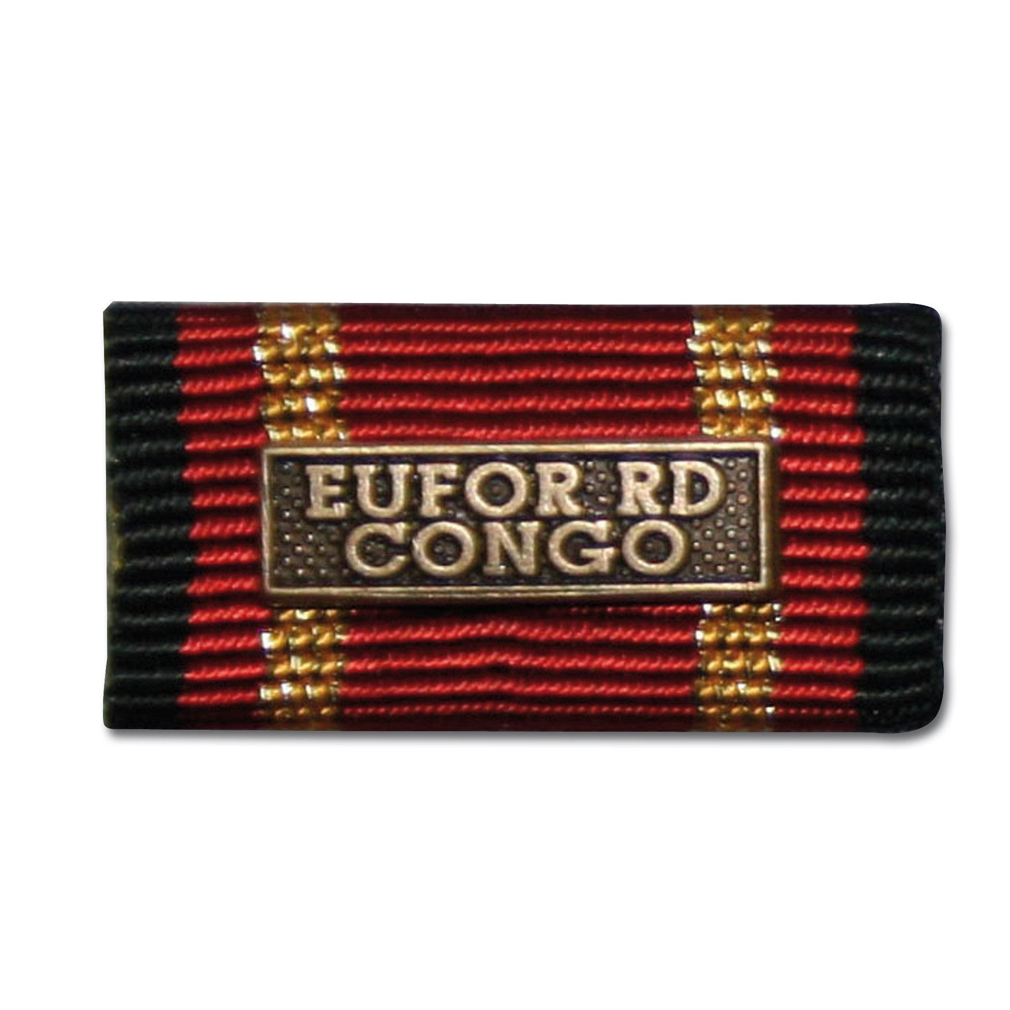 Medalla al servicio EUFOR RD CONGO bronce