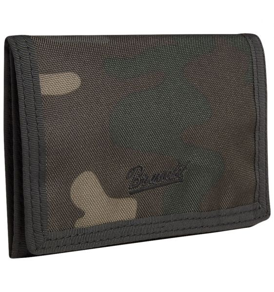 Brandit Billetera Wallet Three darkcamo