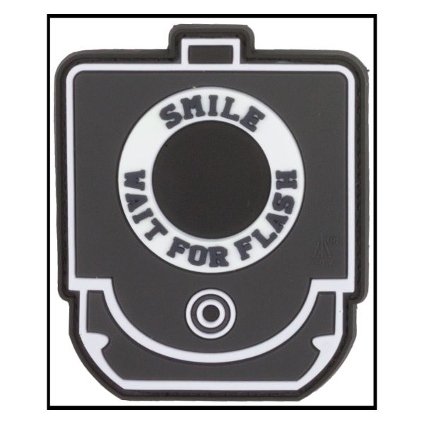 Parche -3D Smile and Wait for Flash fullcolor