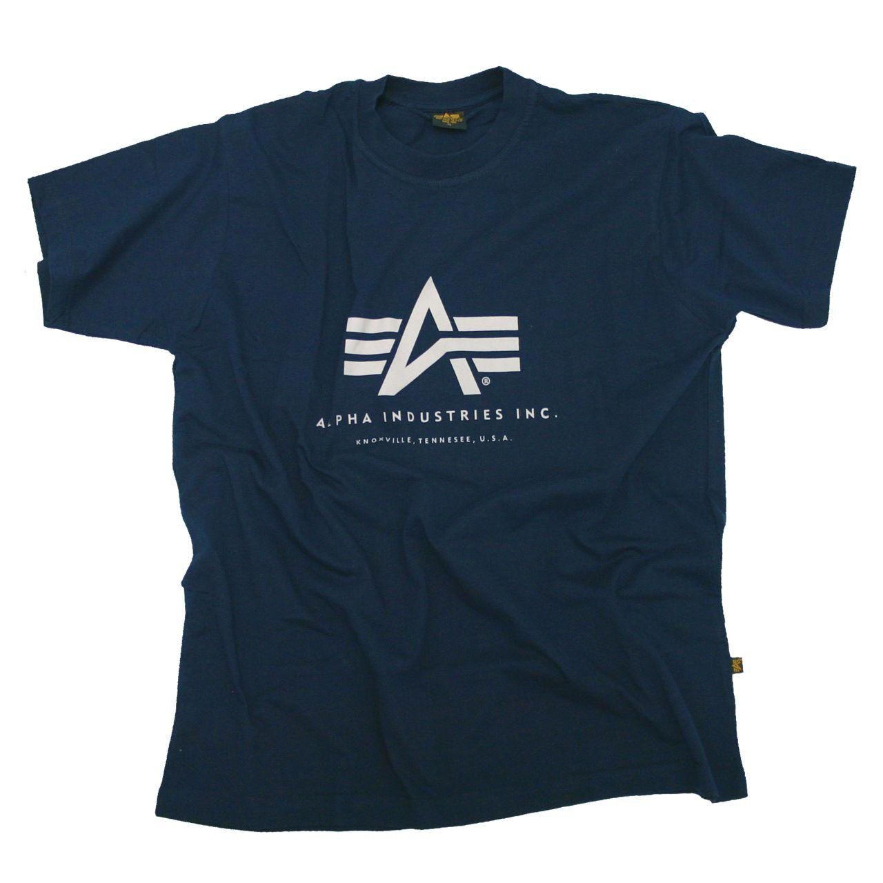 Camiseta Alpha Industries Basic azul