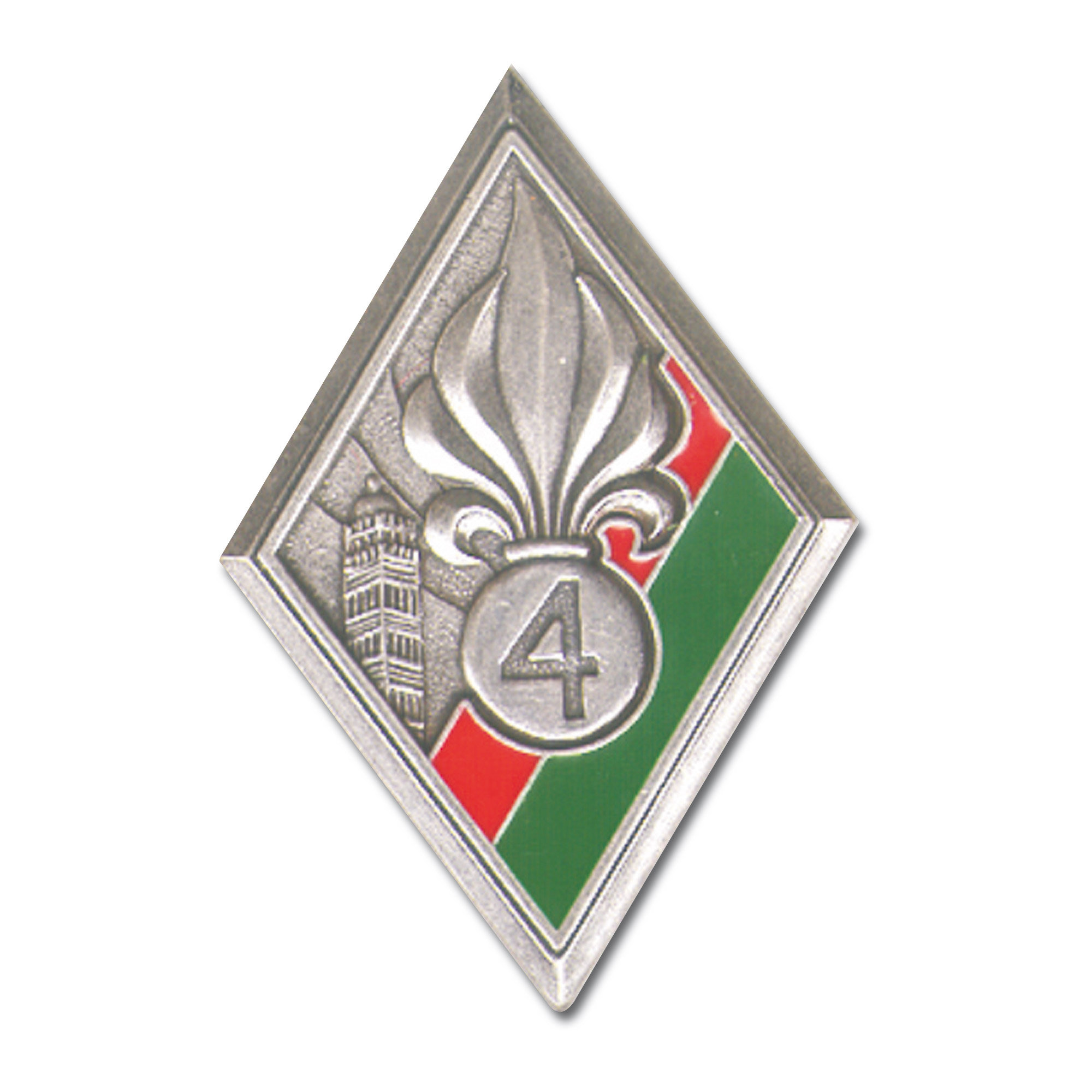 Distintivo francés Legion 4. REI