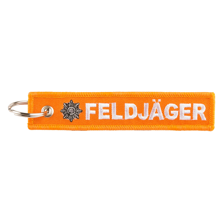 Llavero Feldjäger naranja
