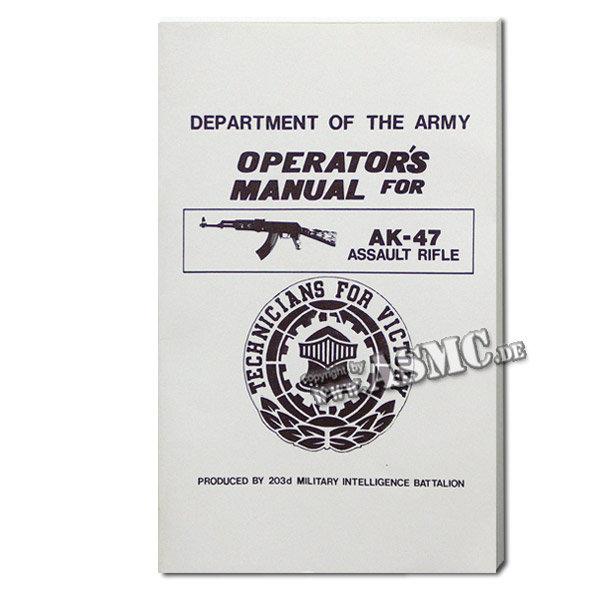 Libro Operators Manual AK-47