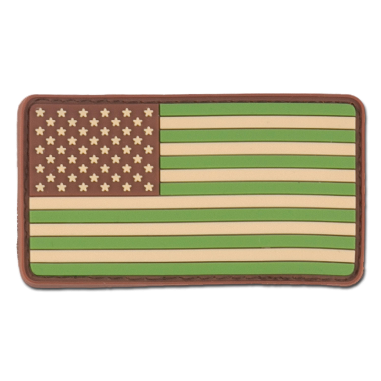 Parche 3D US Flag multicam