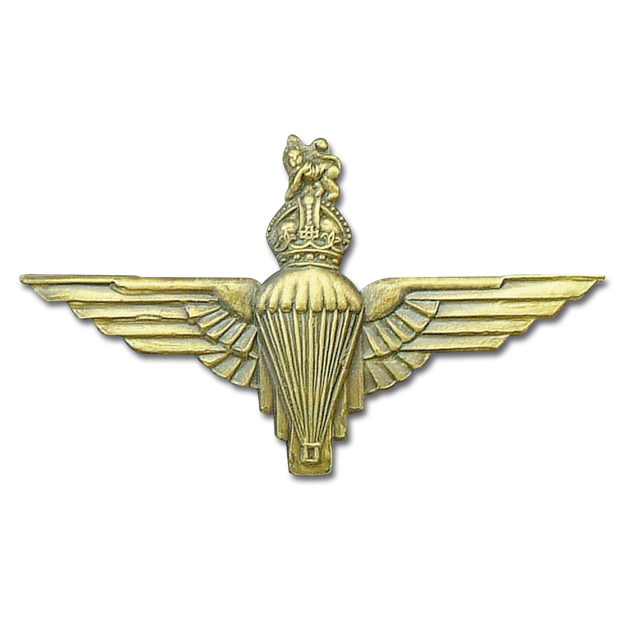 Insignia metálica Springer Queens Crown