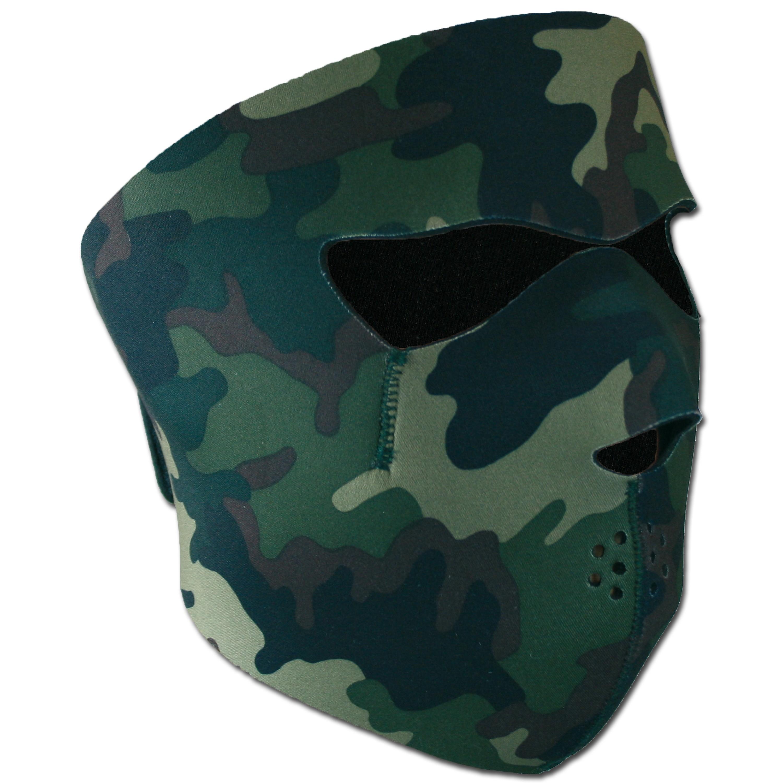 Máscara neopreno - protección de rostro reversible