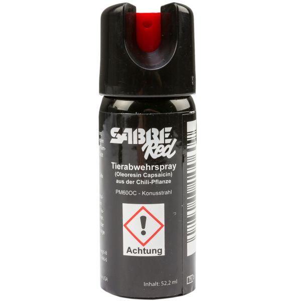 Spray de pimienta Sabre Red M-60L-OC chorro pulverizador 52.2 ml