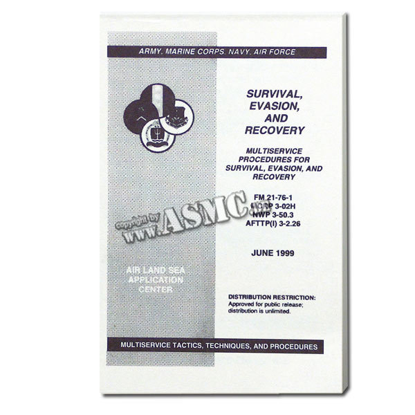 Libro Survival, Evasion and Recovery