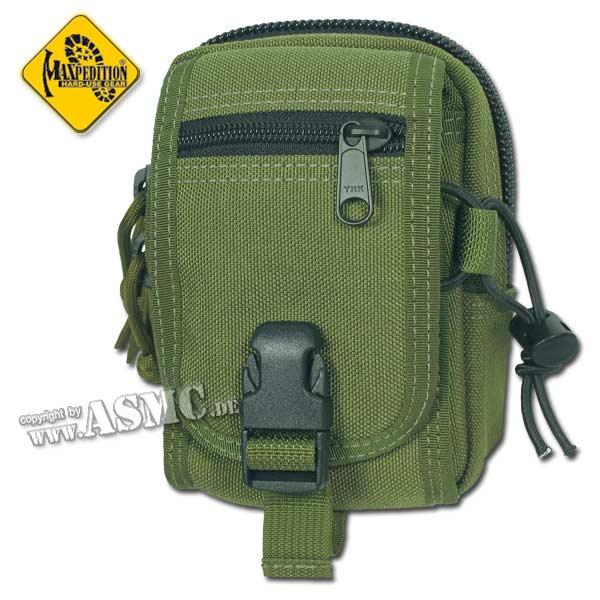 Bolsa para cinturón Maxpedition M1 Waistpack verde oliva