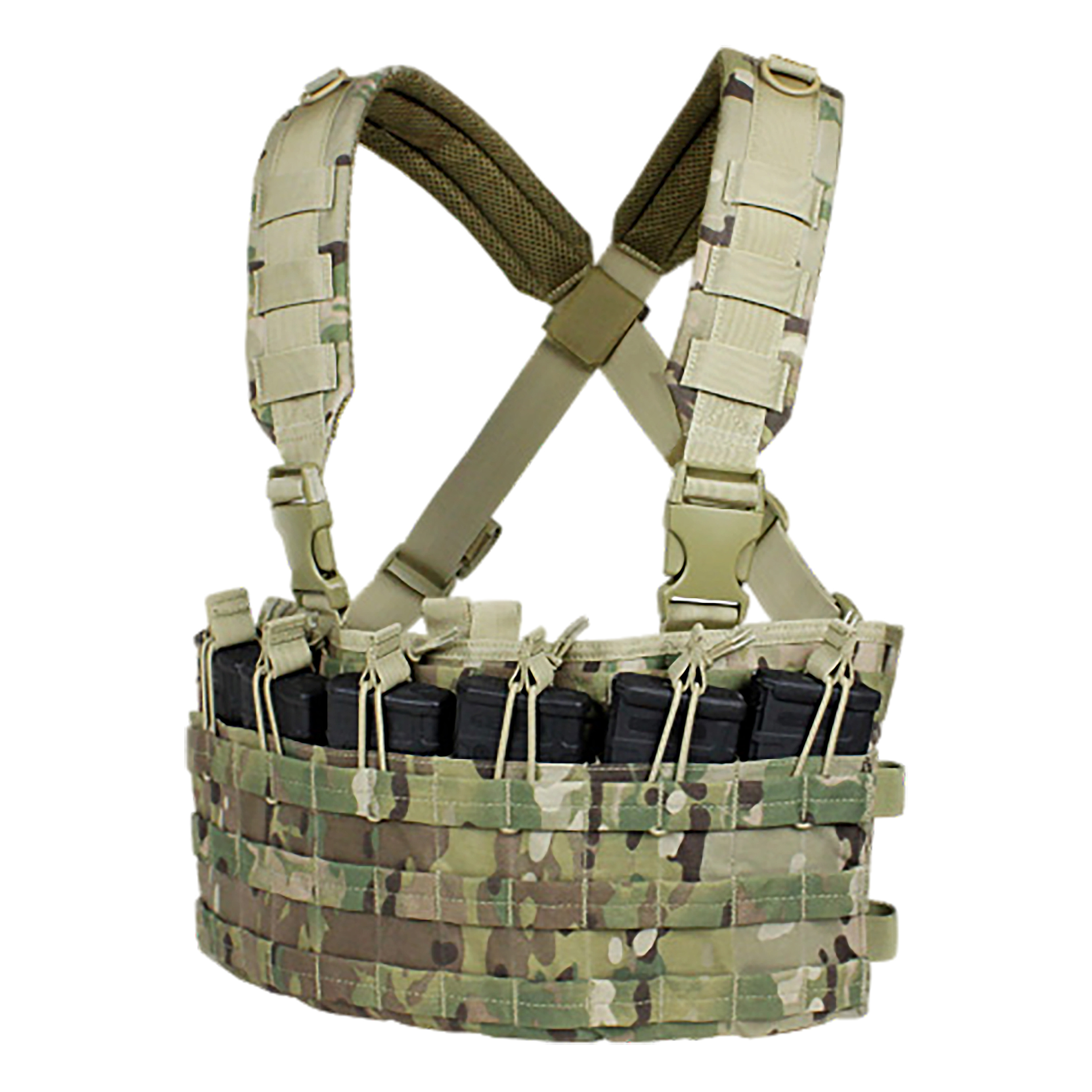 Chest Rig Condor Rapid Assault coyote multicam