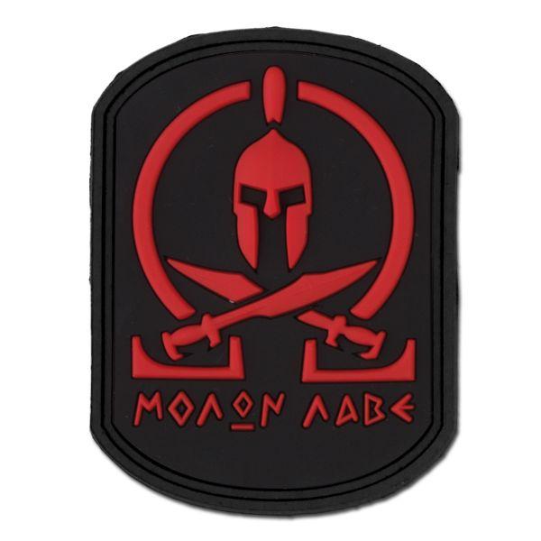 Insignia 3D Molon Labe Spartan blackmedic