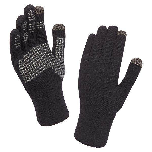 Guantes SealSkinz Ultra Grip Touchscreen negro