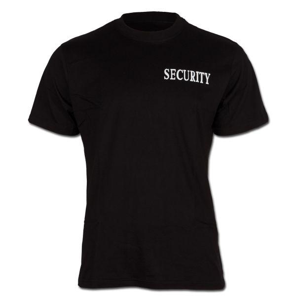 Camiseta Security estampado frontal y posterior II