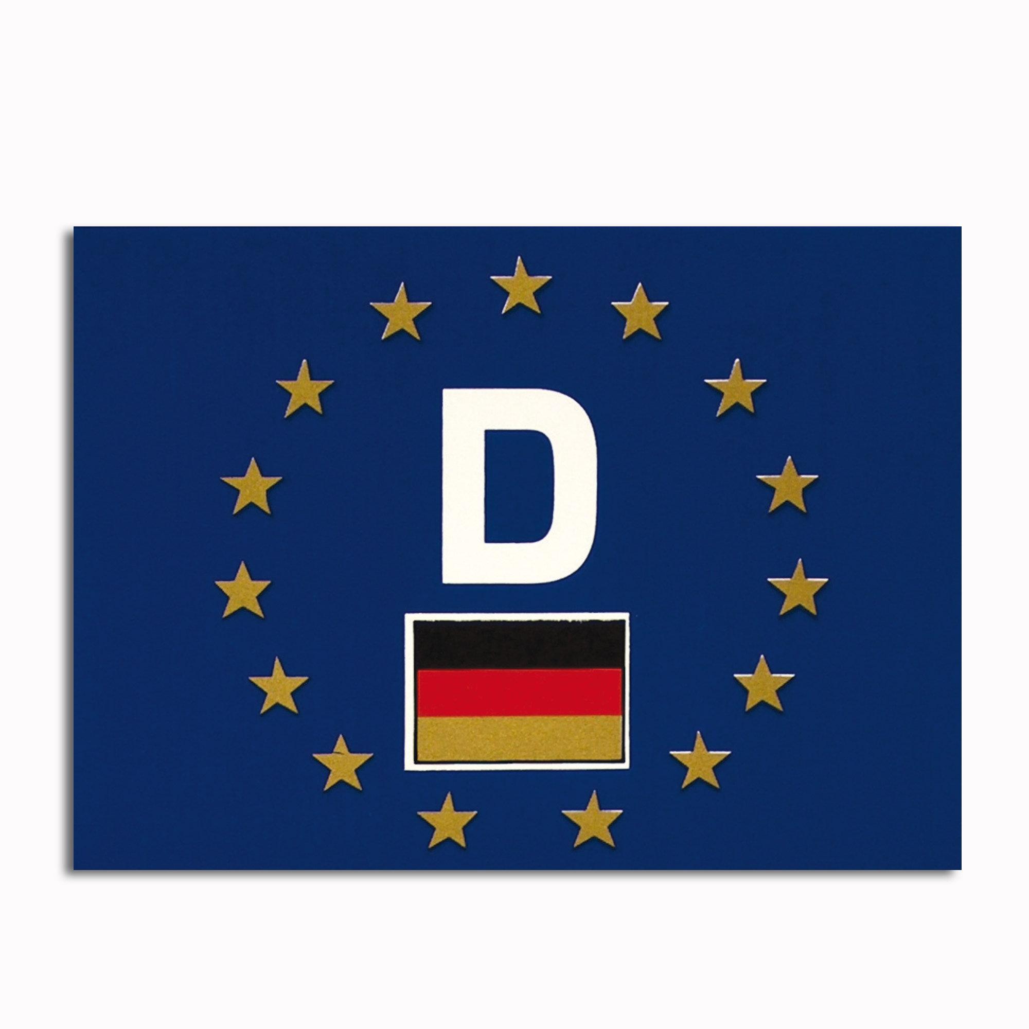Calcomanía KFZ D-Europa