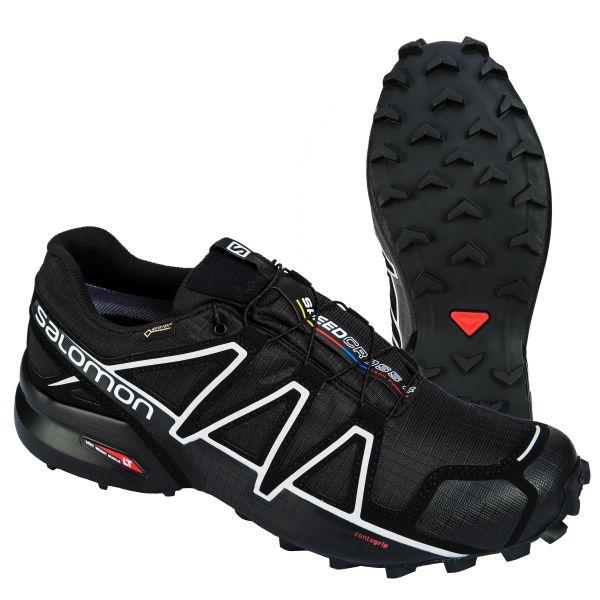 Calzado Salomon Speedcross 4 GTX negro plata