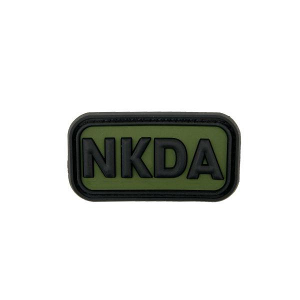 Parche 3D NKDA - No Known Drug Allergies forest