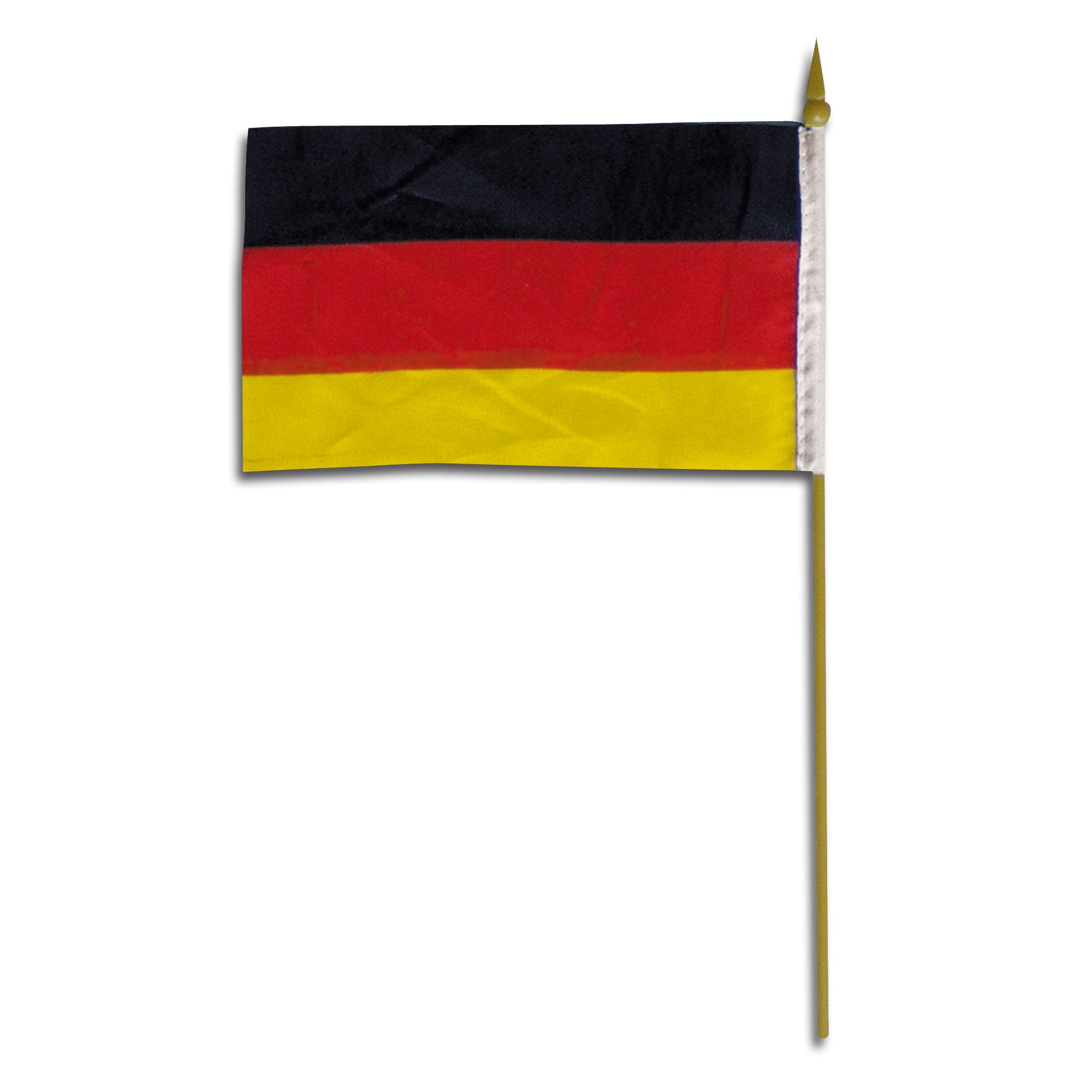 Mini-bandera de mano Alemania