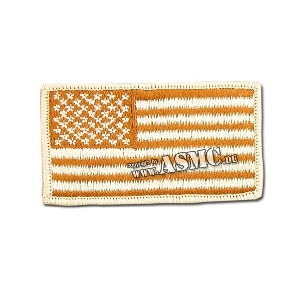 Insignia bandera US desert