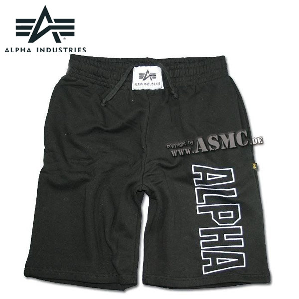 Shorts Alpha Industries Track negros