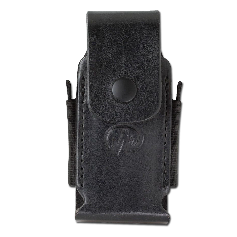 Funda de nylon - cuero Leatherman Premium II negra