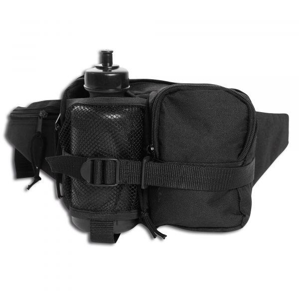 Mil-Tec Riñonera Single Pack negro