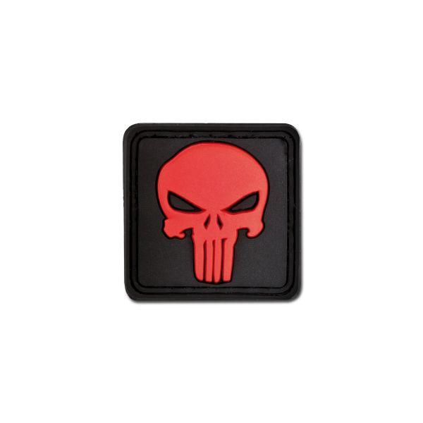 Parche - 3D Punisher Skull blackmedic